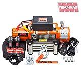 RECOVERY Seilwinde 24V 4x 413500LB winchmax Marke original orange Winde–Kabellos
