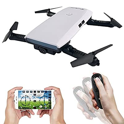 EACHINE E56 WIFI FPV Quadcopter Drone With 2.0MP 720P Camera Gravity Sensor Mode Altitude Hold Foldable Selfie Pocket Drone RTF