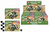 M.Y Combat Mission Army Military Jeep Vehicle Building Blocks Bricks Compatible with most brands