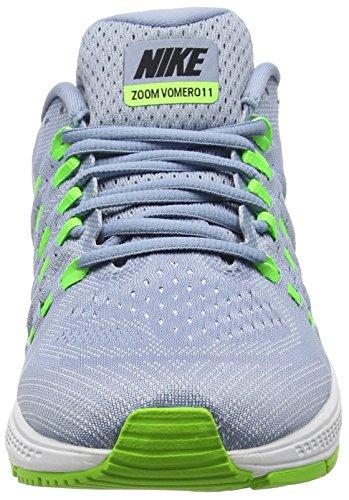 Nike Herren Air Zoom Vomero Laufschuhe Schwarz (Blue Grey/Black Pure Platinium Electric GreenBlue Grey/Black Pure Platinium Electric Green)