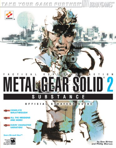 Metal Gear Solid 2: Substance Official Strategy Guide for Xbox (Brady Games)