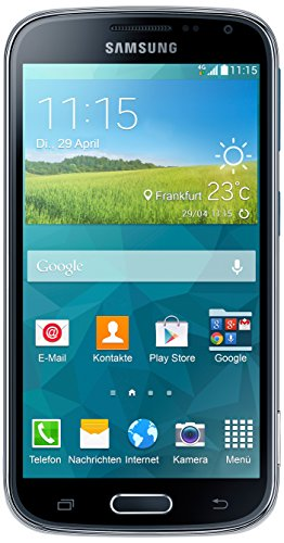 m C115 Smartphone (12,2 cm / 4,8 Zoll HD Super-AMOLED-Display, 8 GB interner Speicher, 20,7 Megapixel Kamera, 10-fach optischer Zoom, Android 4.4) Electric-blue ()