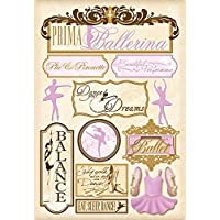 Karen Foster Design Acid and Lignin Free Scrapbooking Sticker Sheet, C is for The Cure