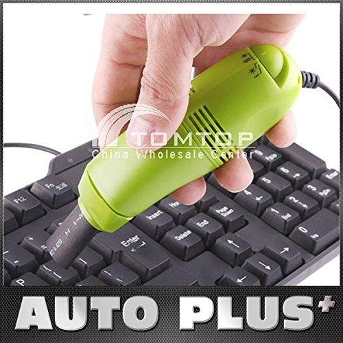 preadvisor (TM) Mini teclado USB aspirador para la limpieza de PC portátil ordenador de sobremesa Colector de polvo–Set de accesorios para