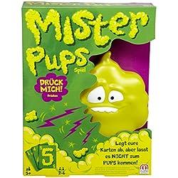 Mattel Games DPX25 - Mister Pups lustiges Kartenspiel, geeignet für 2 - 6 Spieler, Spieldauer ca. 30 Minuten, Kinderspiele ab 5 Jahren