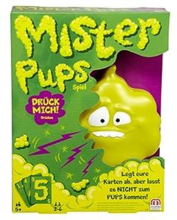 Mattel Games DPX25 - Mister Pups lustiges Kartenspiel, geeignet für 2 - 6 Spieler, Spieldauer ca. 30 Minuten, Kinderspiele ab 5 Jahren (B018EALH22) | Amazon Products