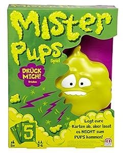 Mattel Games Mister Pups Juego de Cartas de acumulación - Juegos de Cartas (5 año(s), Juego de Cartas de acumulación, Mister Pups, Niños, Niño/niña, Caja)
