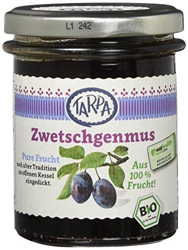 Tarpa Bio Zwetschgenmus, 3er Pack (3 x 220 g) (Bio-käse)