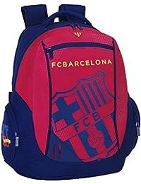 077067 F.C. Barcelona Mochila Tipo Casual, Color Azul y Granate
