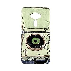 BLUEDIO Designer Printed Back case cover for Asus Zenfone 3 - G6754