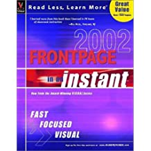 FrontPage 2002 in an Instant