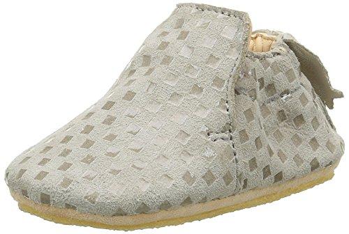 Easy Peasy Blublu, Chaussures Quatre Pattes (1-10 mois) Bébé Garçon, Gris (5Chess Plume), 18/19 EU