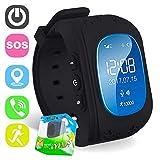 TURNMEON, für Kinder, Smartwatch mit GPS Tracker, Handy-SIM, antiverlust, SOS-Voice-Chat, GPRS, mit App Steuerung