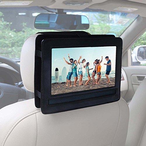 Auto KFZ Kopfstützen Halterung für APEMAN 9,5'' Tragbarer DVD-Player mit 4 Stunden Akku Drehbarem Display