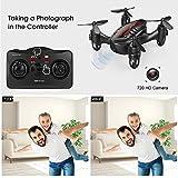 DROCON Drone Mini Pocket GD60 Telecamera di telecomando dellelicottero HD Anti-vibrazione 720P Fashion Headless FLIPS E RUOLI 3D adatto per principianti