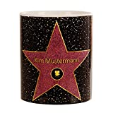 Walk of fame - personalisierte Tasse - Star - Best Reviews Guide