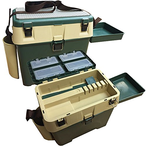 Carp-Fishing-Camping-Seat-Box-Chair-Angling-System-with-Storage-and-Side-Tray