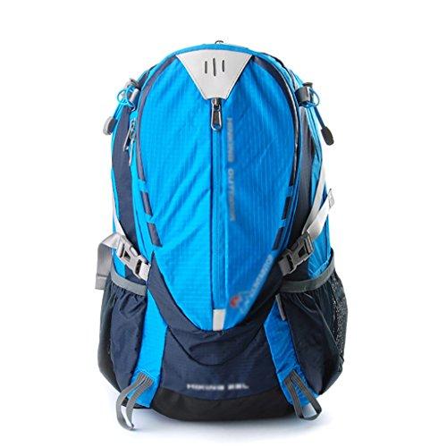 HWLXBB Outdoor Bergsteigen Tasche Männer und Frauen 25L Wasserdichte Mehrzweck-Bergsteigen Tasche Wandern Camping Bergsteigen Freizeit Rucksack Rucksack 1*