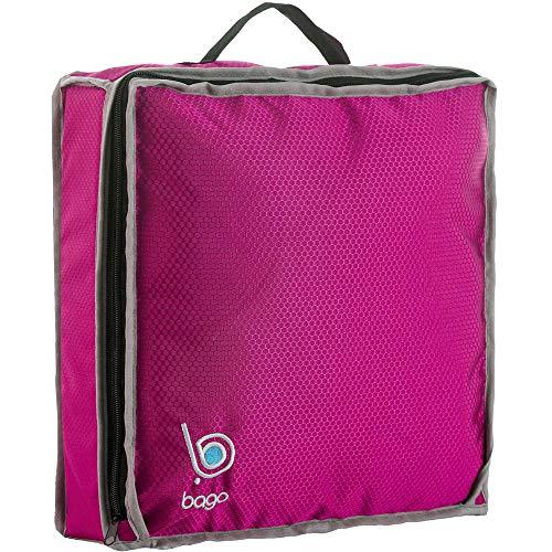 Bago Reisen Schuhtasche - Passend für Zwei Paare(Rosa)