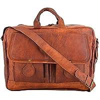 Sankalp Leather Bolsa de mensajero Piel, maletín, bolsa para ordenador portatil, 15 pulgadas, Piel 100% pura con envío gratis, Venta de AÑO NUEVO 2019 - Faltan 2 días