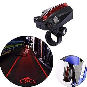 luz led seguridad ciclista