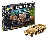Revell 03141 - Maqueta del tanque Sd.Kfz. 9 FAMO (18 piezas, escala 1:72)