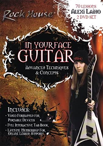 Alexi Laiho - In Your Face Guitar by Alexi Laiho