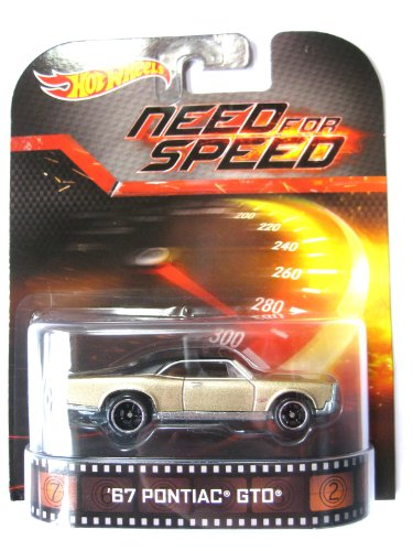 Hot Wheels Pontiac GTO 1967 Need for Speed 1:64 (Gto Hot Wheels)
