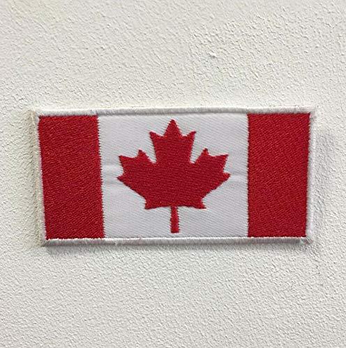 Parche bordado bandera nacional diferentes tamaños