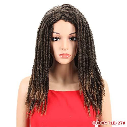 Schwarze Jumbo Afro Perücke - 22 Zoll-Synthetische Perücken Für Schwarze Frauen