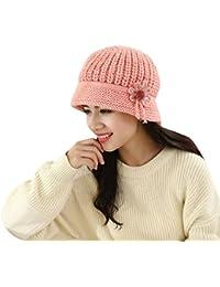 Amazon.it  basco donna - Fletion   Cappelli e cappellini   Accessori ... 3f95495cf378