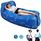 Painting Life Luftsofa, 2019 Upgrade Version Aufblasbare Liege Portable Wasserdicht Lazy Air Sofa...