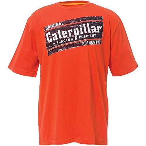 caterpillar-camiseta-logotipo-manga-corta-modelo-parallelogram-hombre-caballero-pequena-s-naranja-ad