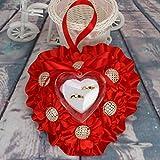 Best Anillos de bodas románticas Tiempo - bpblgf Almohada de Anillo Hecha a Mano de Review