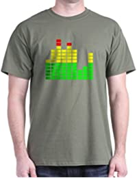 CafePress - Equalizer Dark T-Shirt - 100% Cotton T-Shirt