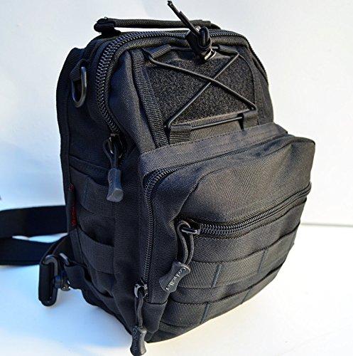 Acid Tactical® Überleben MOLLE Erste-Hilfe- Kit Carry Pack- Trauma Medic Bag Utility - BLACK (Trauma-erste Hilfe)