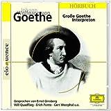 Große Goethe Interpreten