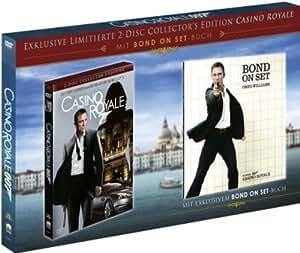 "James Bond - Casino Royale (limitierte Collectors Edition 2-DVD mit Bond ""On Set""-Buch) [Limited Collector's Edition] [Limited Edition]"