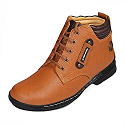 Red Chief Mens Elephant Tan Leather Casual Shoes (RC6011 UK 6)