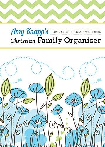 Amy Knapp Christian Family Organizer (Knapp Family Amy Planner)