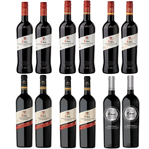 Langguth Erben Kennenlern Rotwein Paket (12 x 0.75 l)