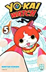 Yo-Kai Watch, tome 5 par Konishi