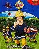 Feuerwehrmann Sam. Spiel- u. Beschäftigungsbuch: Inhalt: 1 Buch, 10 Figuren, 1...