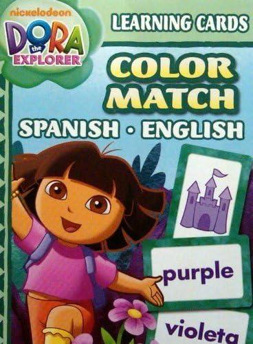 Dora Learning Cards Color Match Spanish English English English by Bendon B00S5V7QUI ebc398