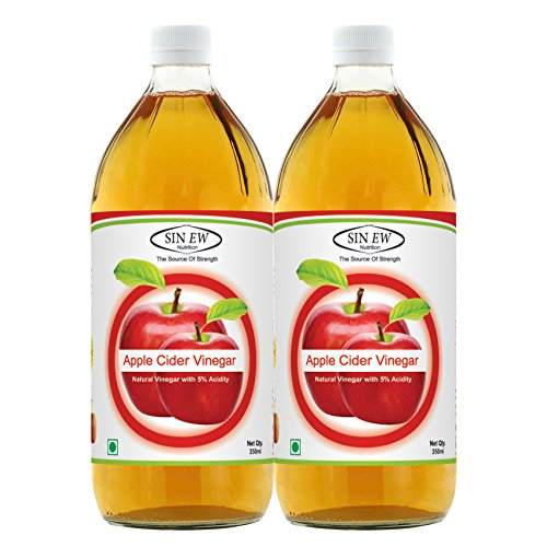 5. Sinew Nutrition Apple Cider Vinegar (Pack of 2)