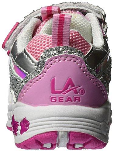 L.A. Gear Lou, chaussons d'intérieur fille Pink (Pink/Silver)