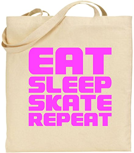 eat-sleep-skate-repeat-cotton-tote-shopping-bag-roller-blades-skater-skateboard