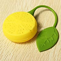 Silicon Tea Infuser/Strainers (Lemon)