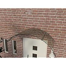 Vordachhalter Edelstahl VF-650 1 Paar Flach Vordachsystem Vordach Vordachtr/äger Edelstahlvordach Glasvordach T/ürvordach Haust/ür Halter