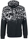 Rock Rebel by EMP Speed of Darkness Sudadera con Capucha Negro XXL